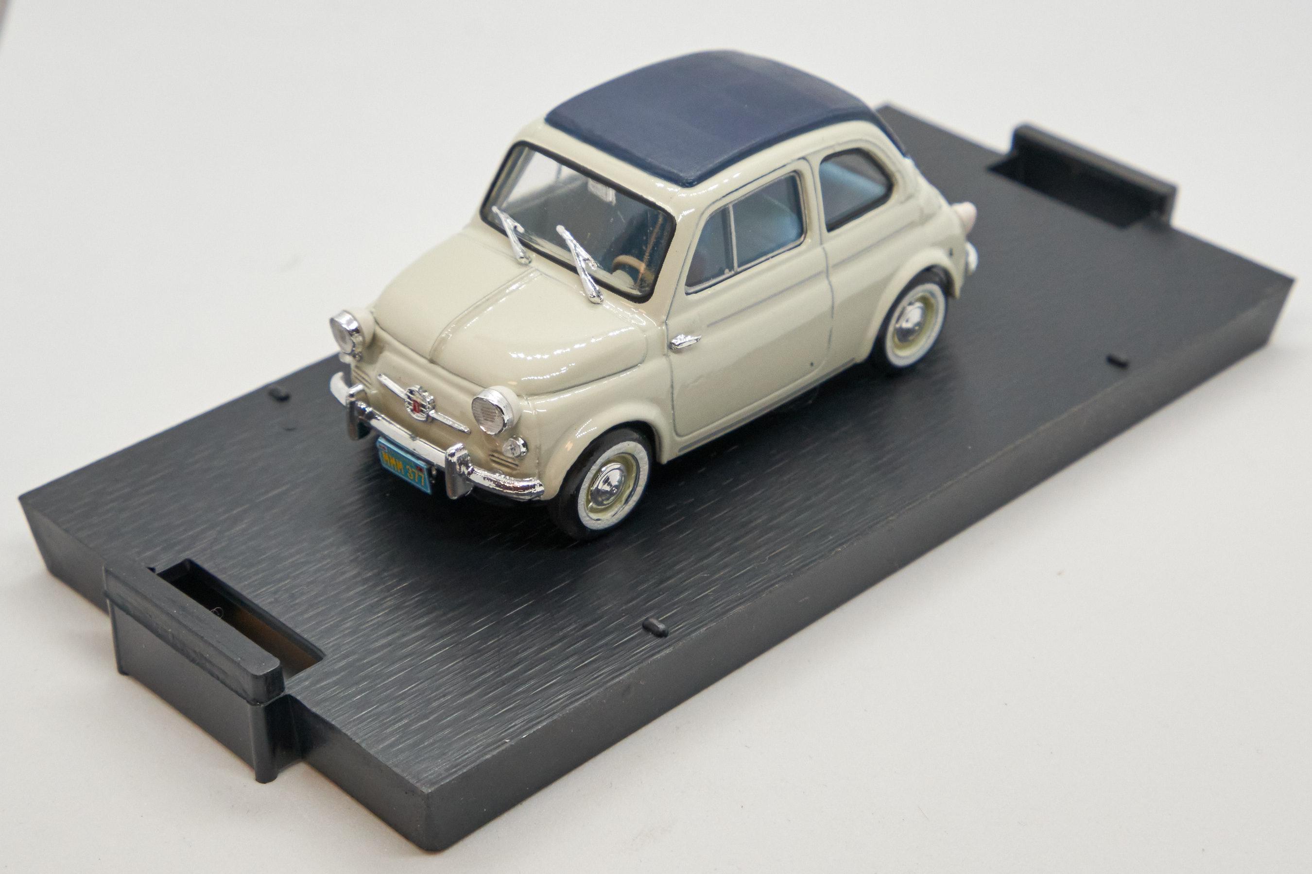 Fiat Nuova 500 America Chiusa 1/43 Brumm 100% Made In Italy