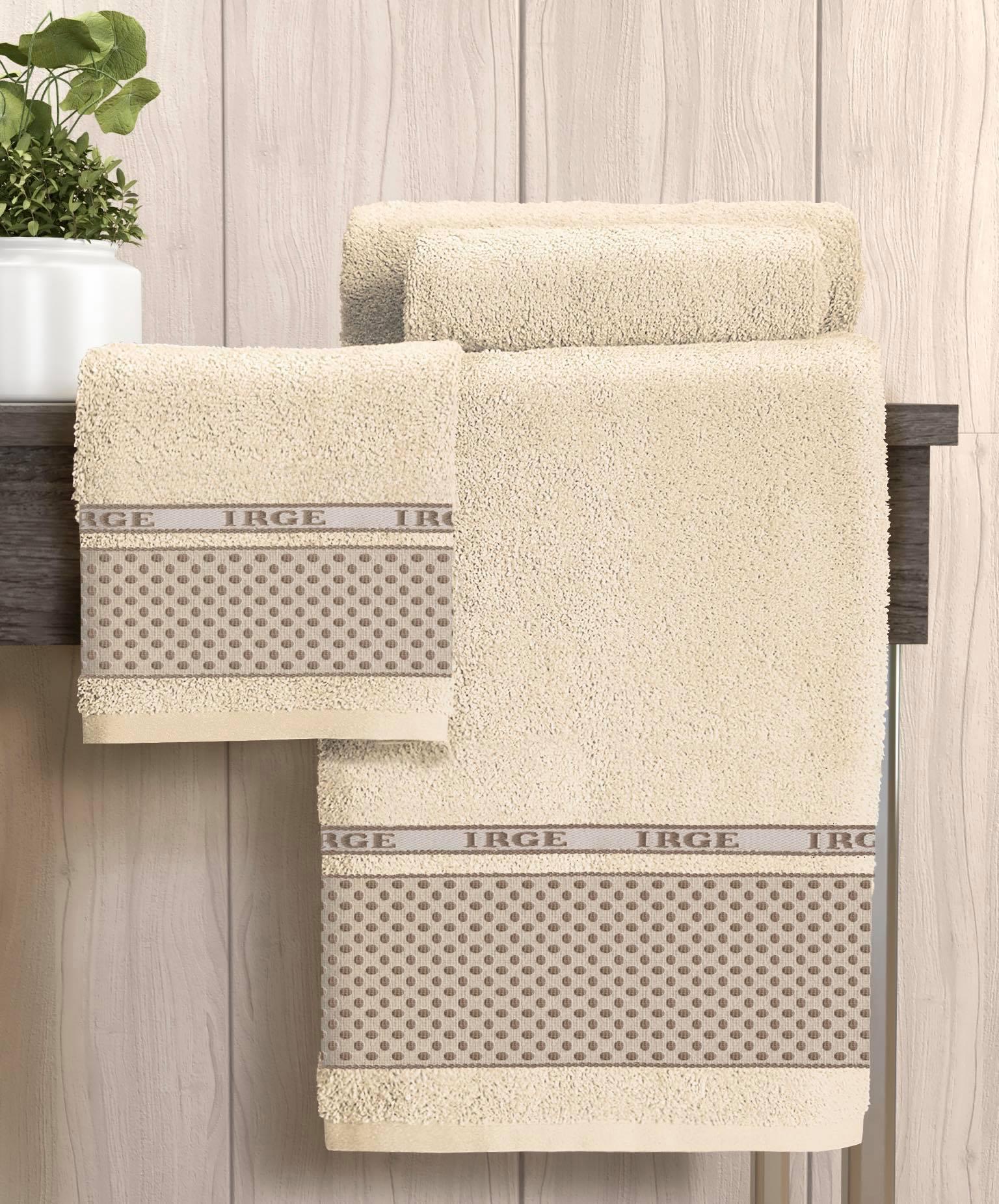 Set asciugamani bagno pois