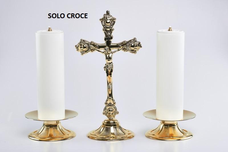 Croce su base alt. cm. 37