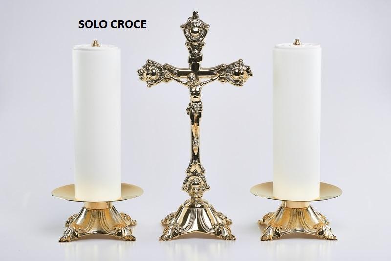 Croce su base fusa alt. cm. 36