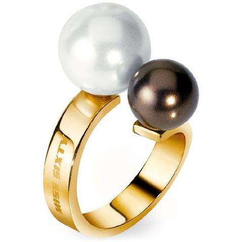 Anello donna Miss Sixty. Perle.