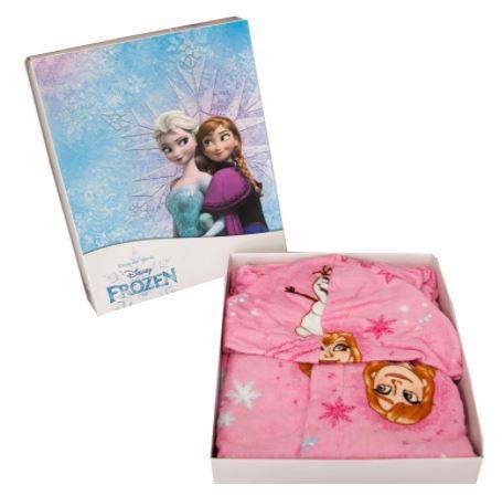 Accappatoio Frozen II Bambina 2-3 anni 4-5 anni 6-7 anni 100% cotone