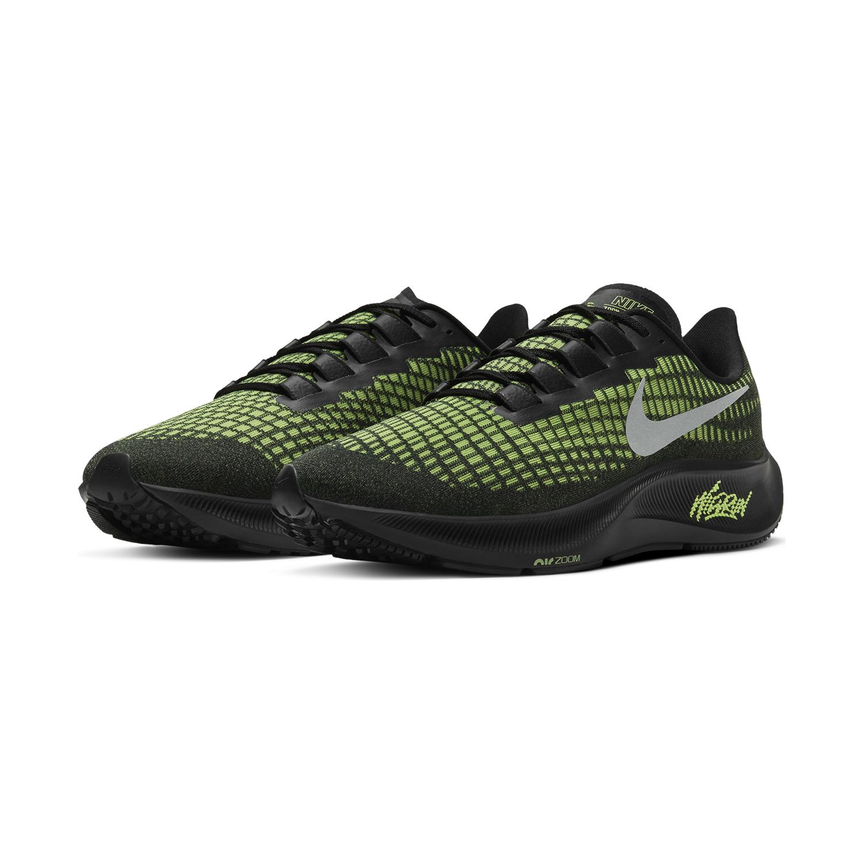 Nike Air Zoom Pegasus 37 Black/Reflect Silver/Ghost Green
