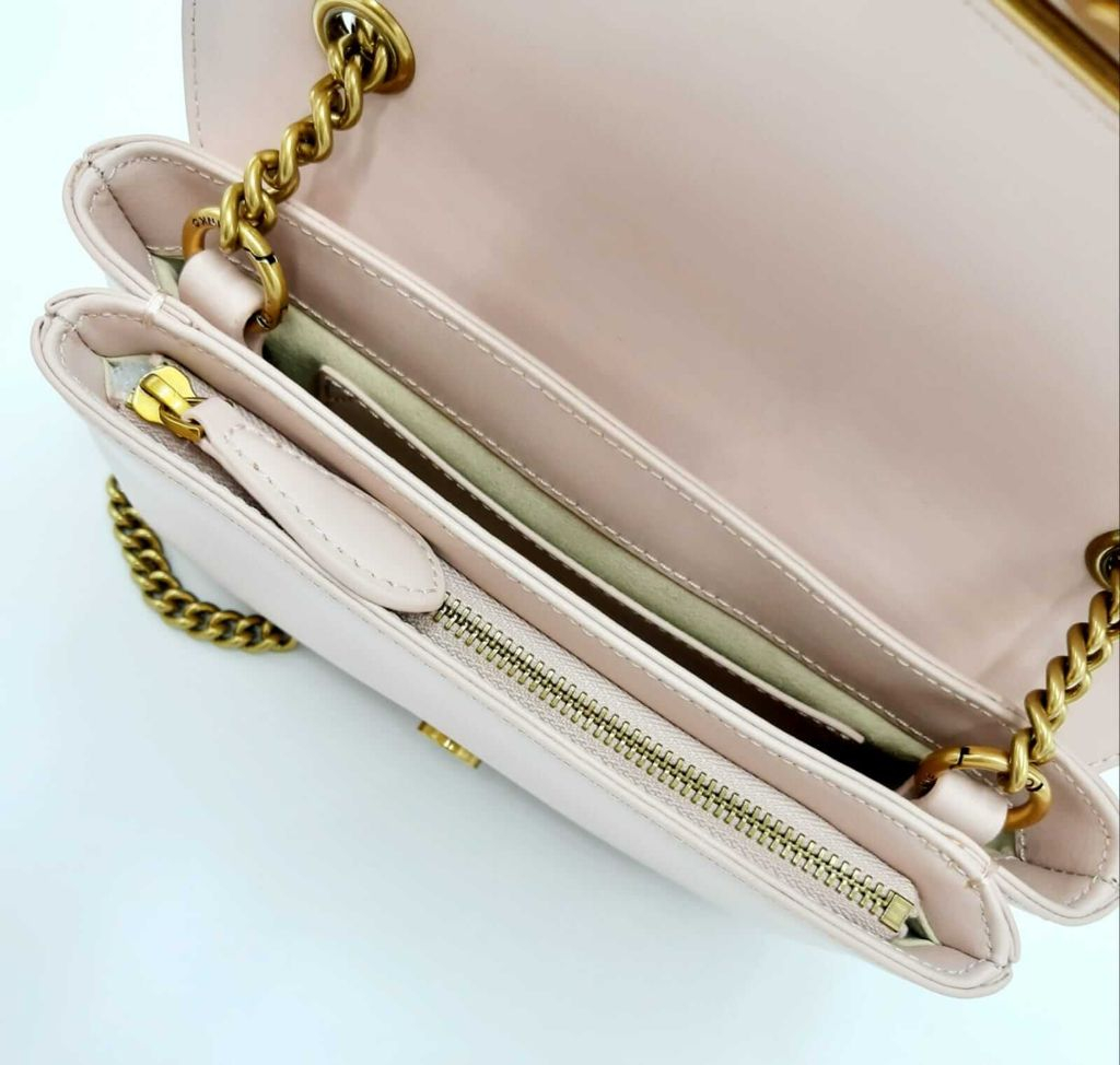 Tracolla Love mini soft simply nude Pinko