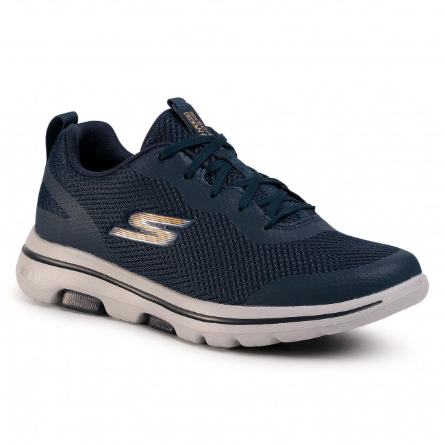 Scarpe SKECHERS - Squall 216011/NVGD Navy/Gold 1