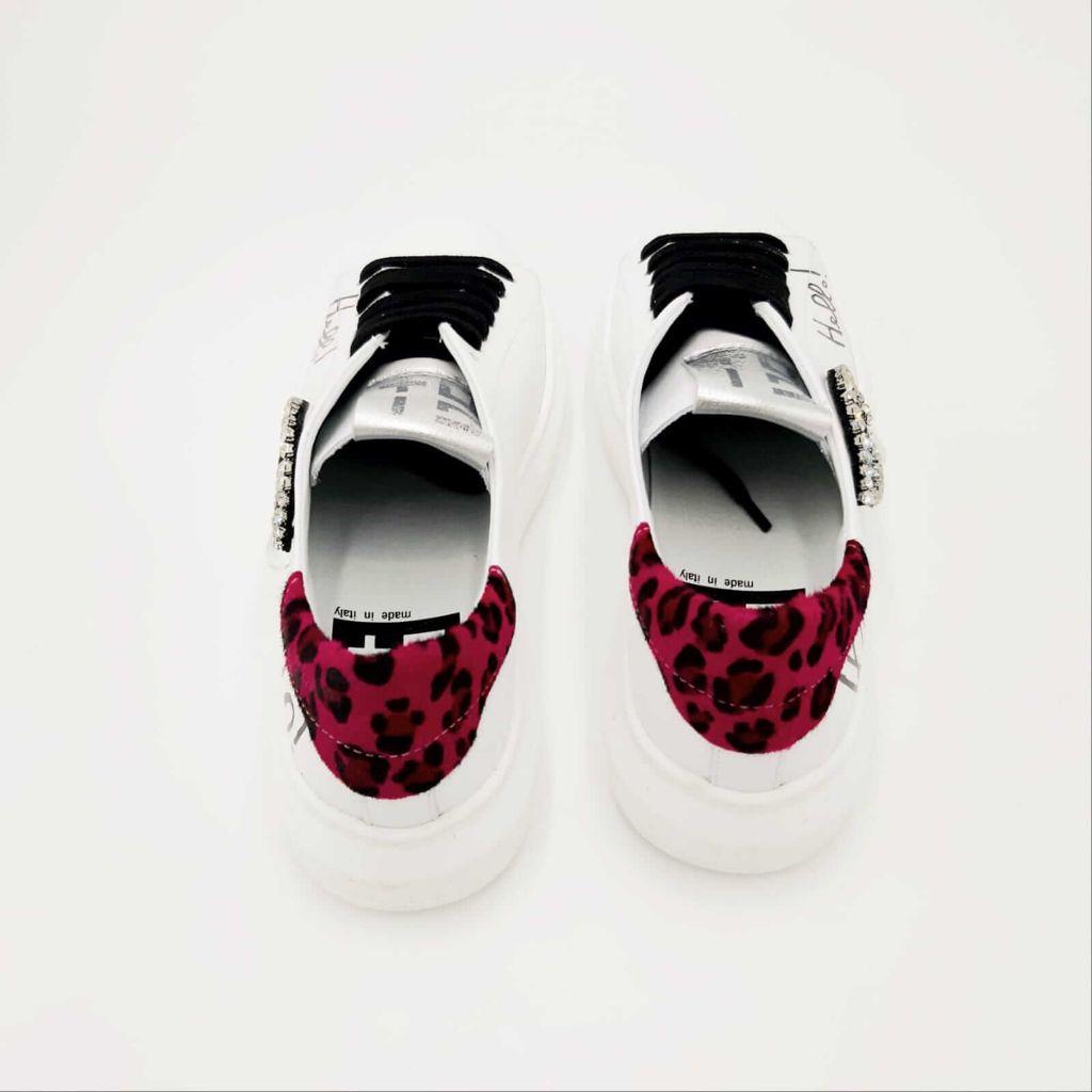 Sneakers bianca occhio GIO+.