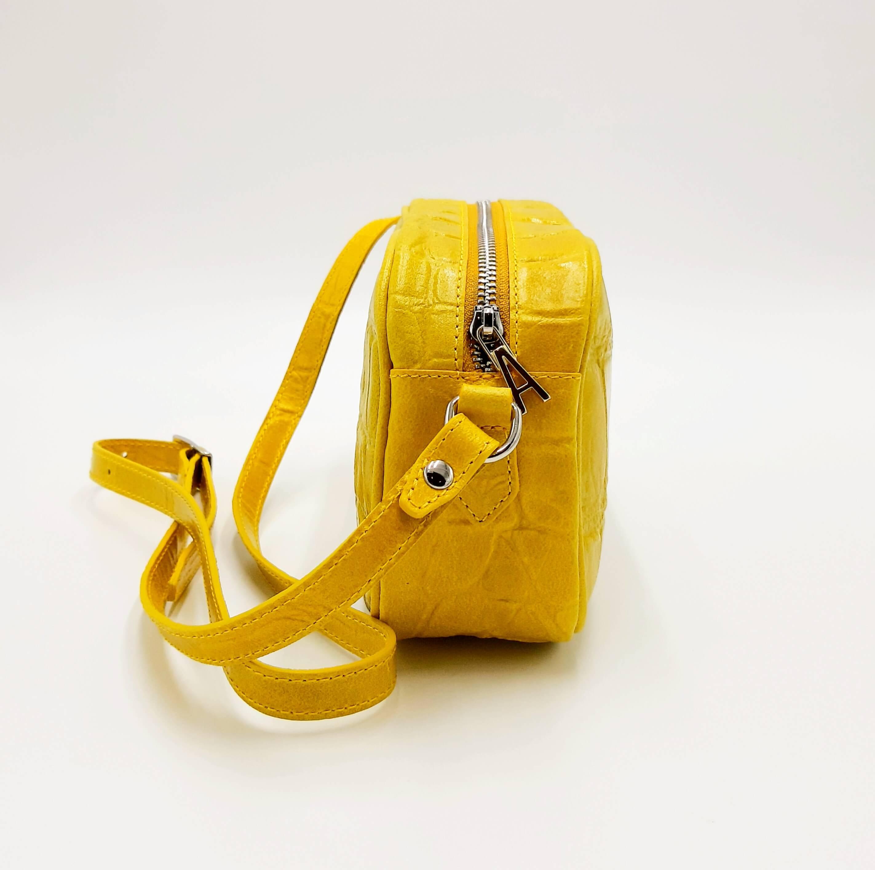Tracolla Lalla bag gialla Aniye By.