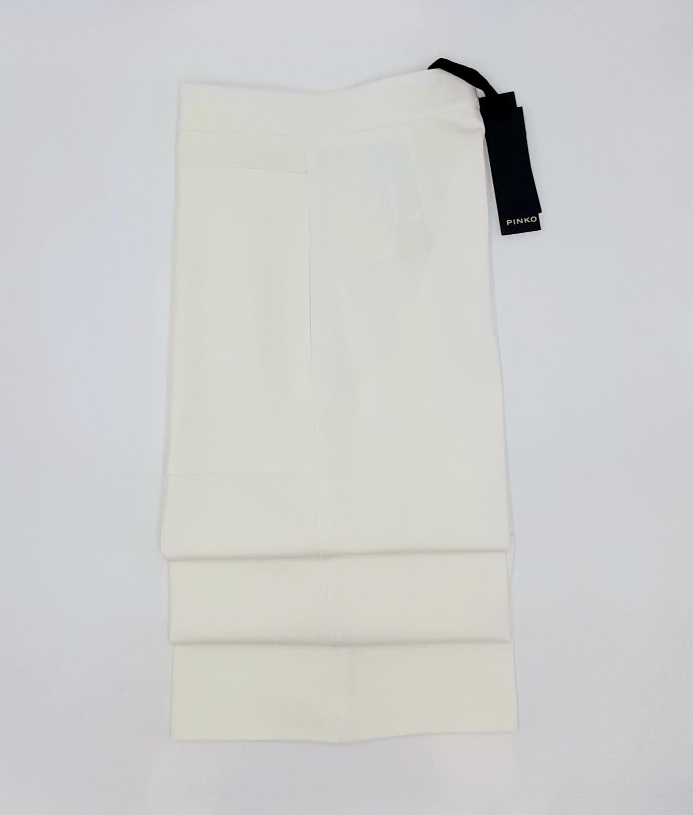 Pantaloni Svelto ampi effetto scuba Pinko