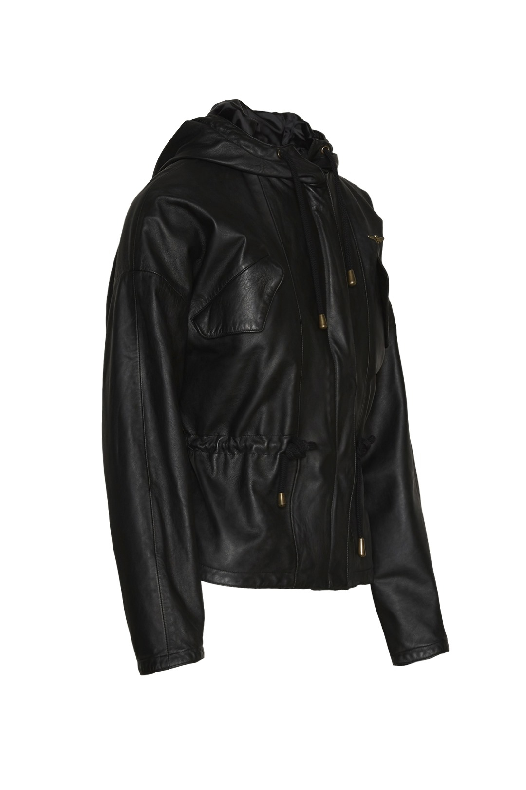 Hooded Leather Jacket 3