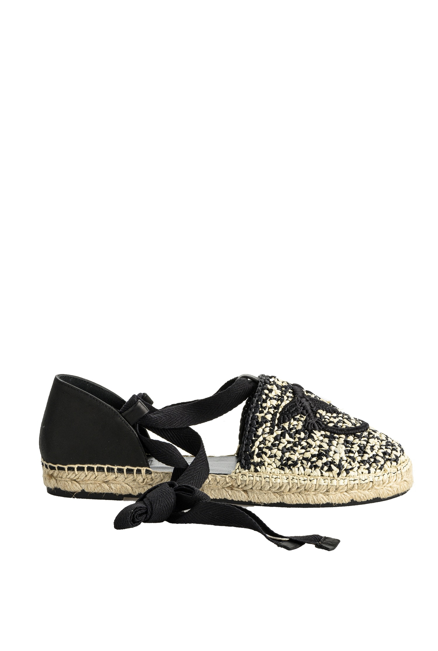 SHOPPING ON LINE PINKO ESPADRILLAS RAFIA LOVE BIRDS DAPHNE NEW COLLECTION WOMEN'S SPRING SUMMER 2021