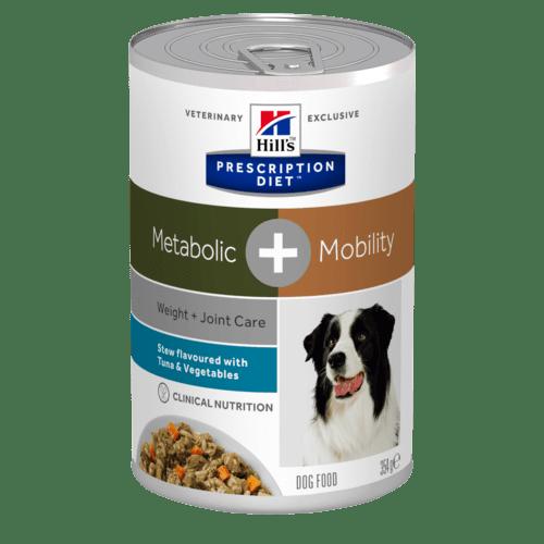 Hill's - Prescription Diet Canine - Metabolic+Mobility Stew - 354g x 6 lattine