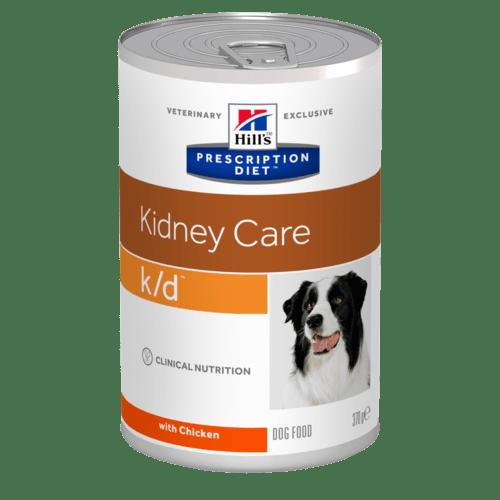 Hill's - Prescription Diet Canine - k/d - 370g x 6 lattine