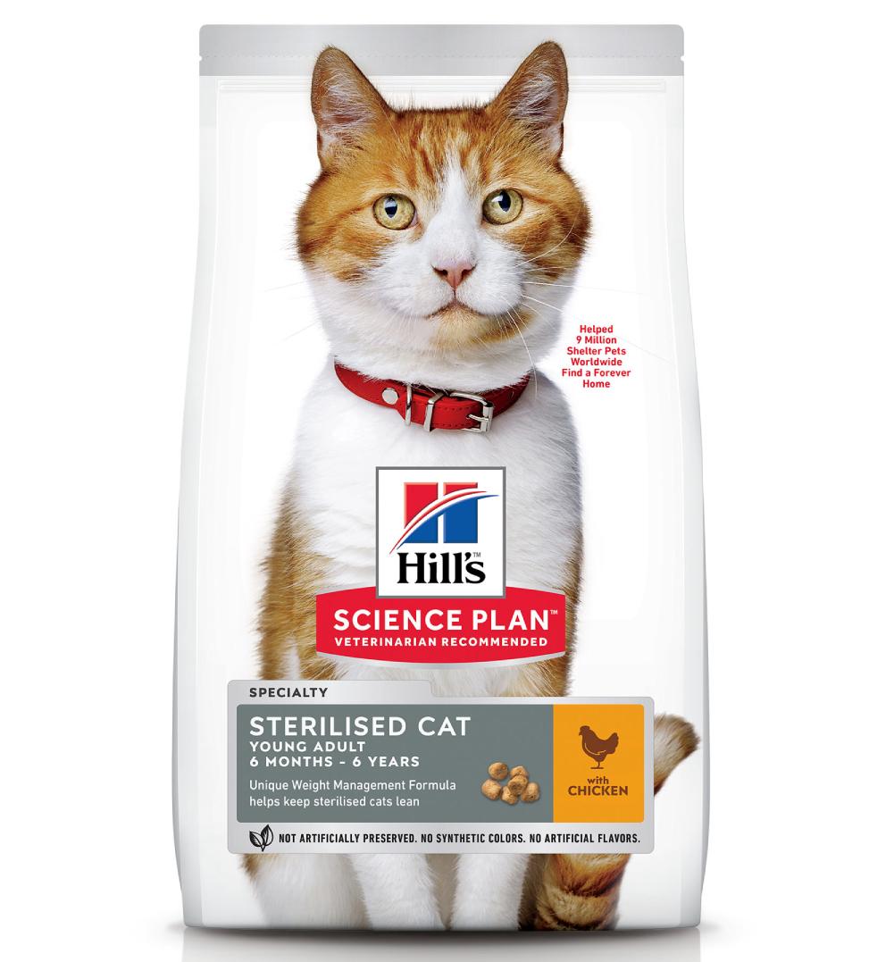 Hill's - Science Plan Feline - Young Adult Sterilizzato - 1,5kg