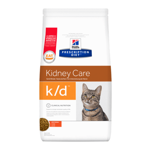 Hill's - Prescription Diet Feline - k/d Pollo - 1,5kg