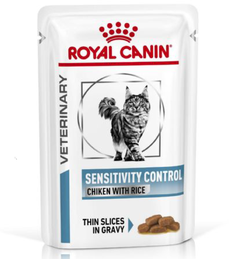 Royal Canin - Veterinary Diet Feline - Sensitivity Control - BOX 12 bustine 85g