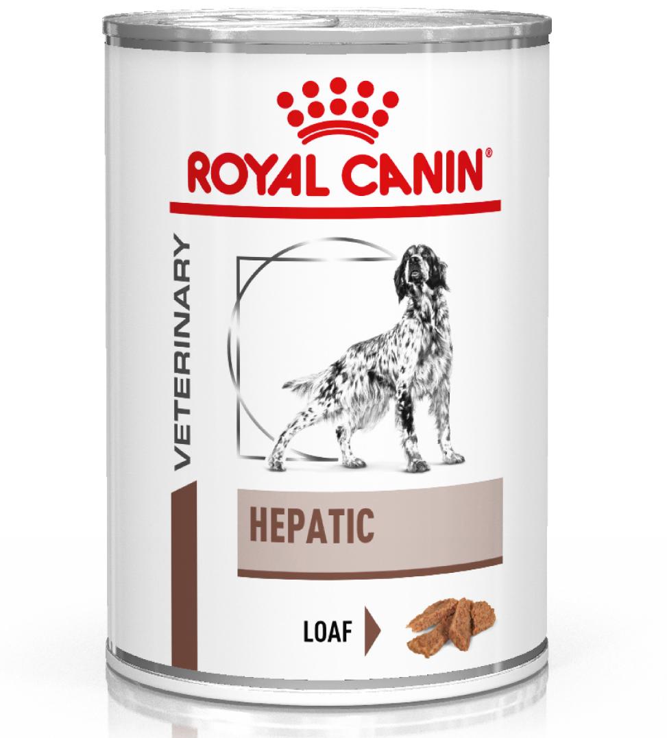 Royal Canin - Veterinary Diet Canine - Hepatic - 420g x 6 lattine