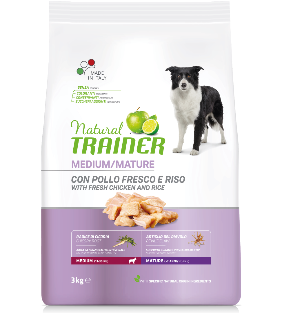 Trainer Natural - Medium - Maturity - 3 kg
