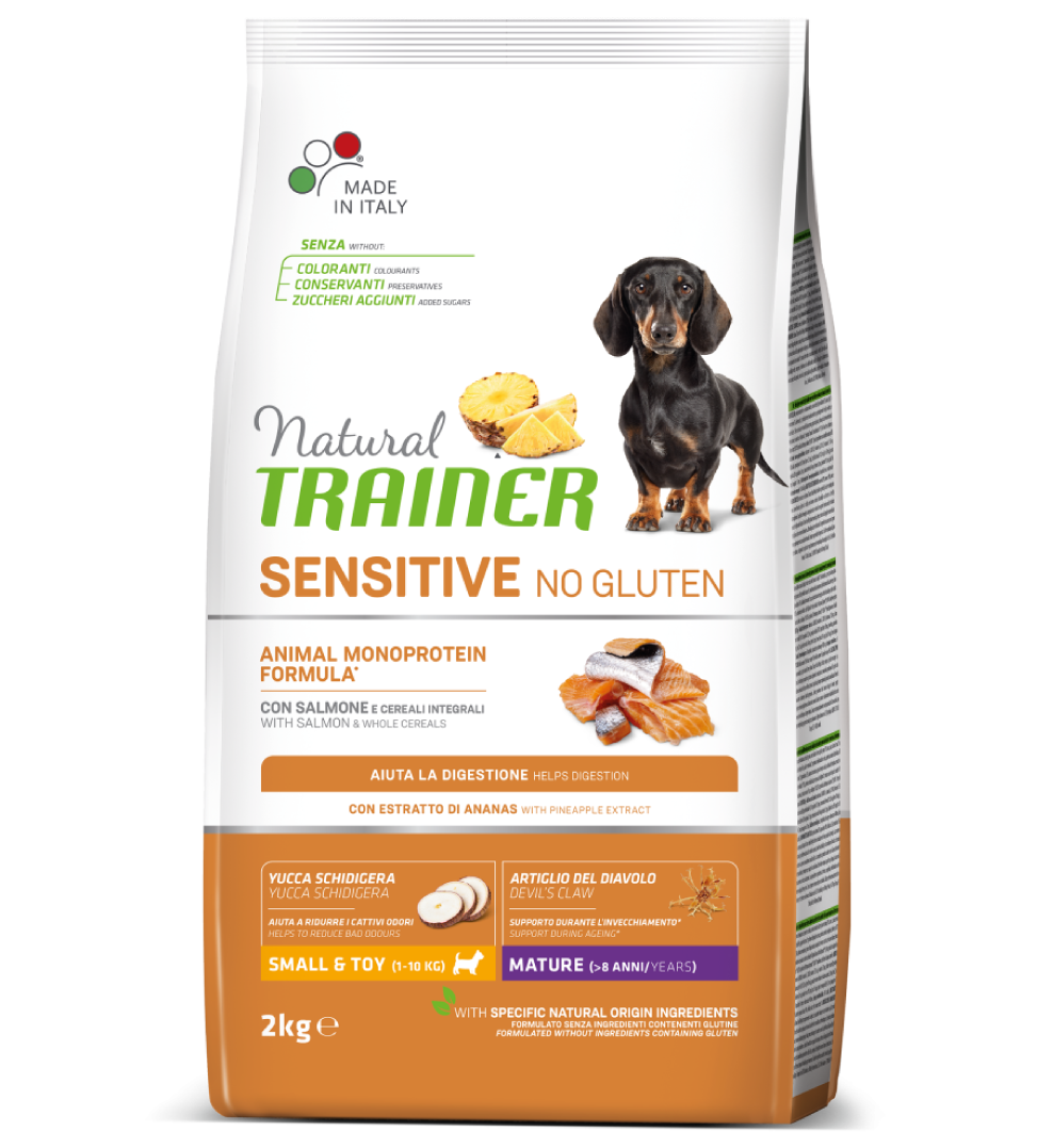 Trainer Natural Sensitive - Small&Toy - Mature - Salmone 2 kg
