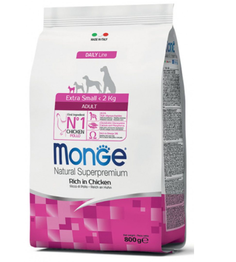 Monge - Daily Line - Extra Small - Adult - 3 kg