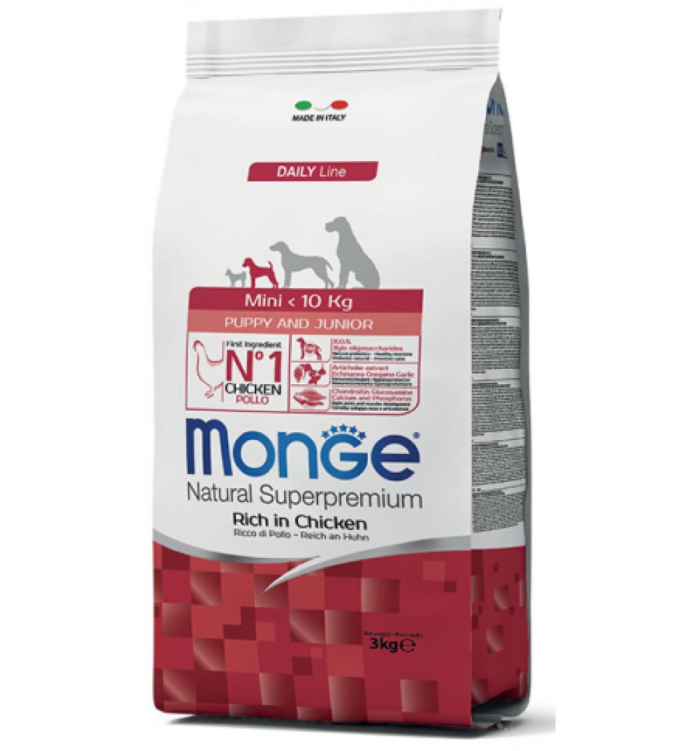 Monge - Natural Superpremium - Mini Puppy - Pollo - 3 kg