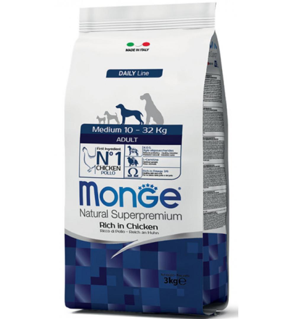 Monge - Natural Superpremium - Medium Adult - 3 kg