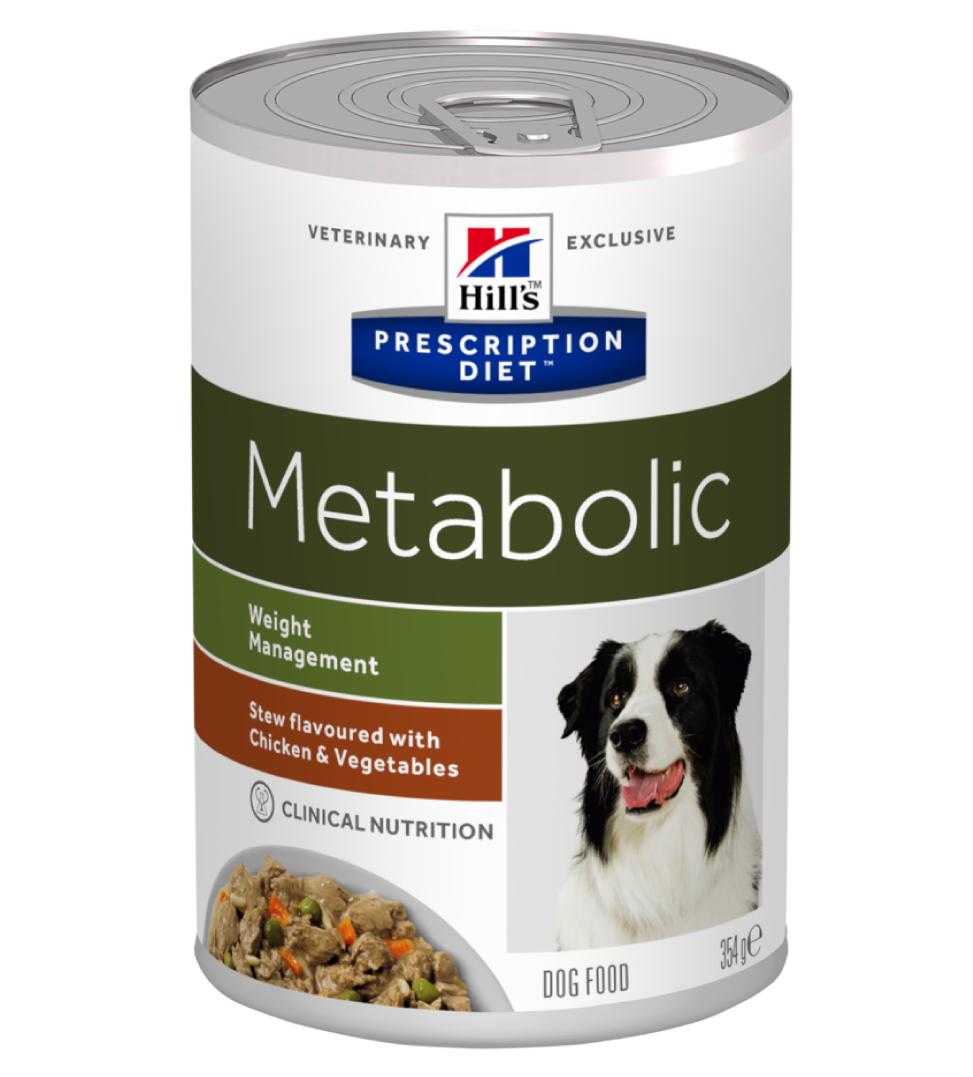 Hill's - Prescription Diet Canine - Metabolic Stew - 354g x 6 lattine