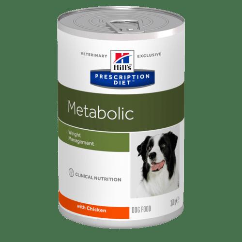 Hill's - Prescription Diet Canine - Metabolic - 370g x 6 lattine