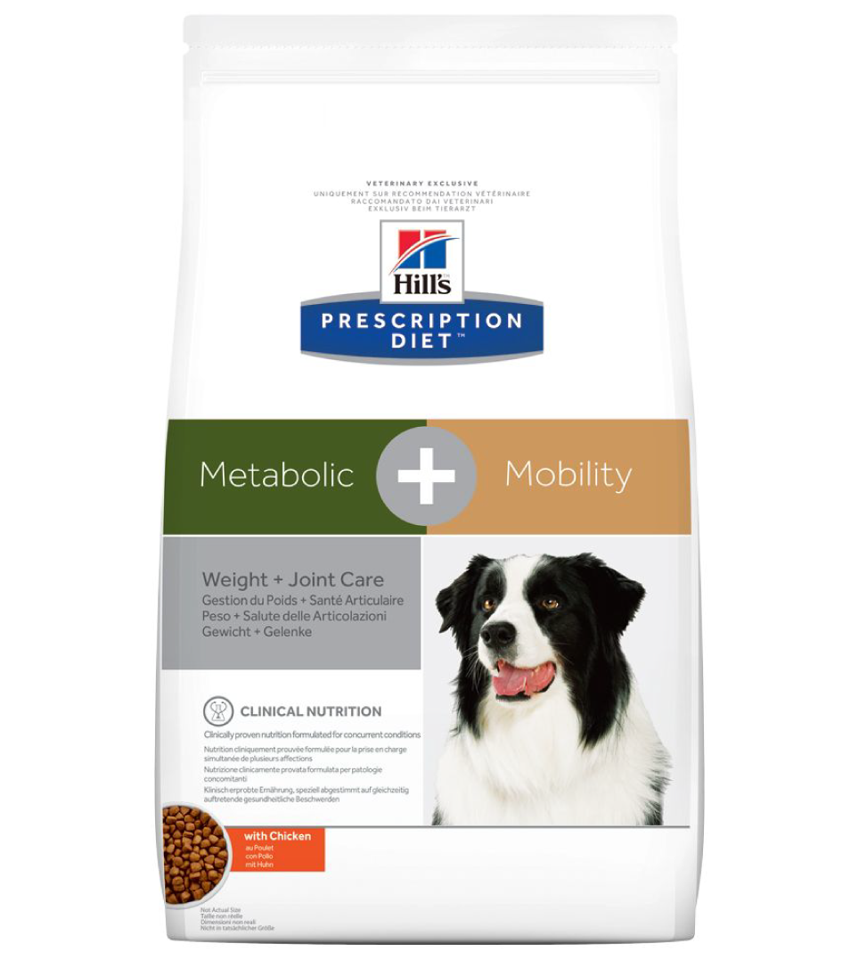 Hill's - Prescription Diet Canine - Metabolic+Mobility - 12 kg