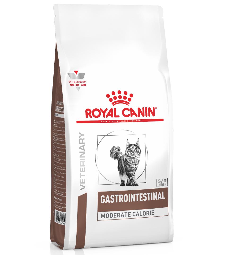 Royal Canin - Veterinary Diet Feline - Gastrointestinal Moderate Calorie - 2 kg