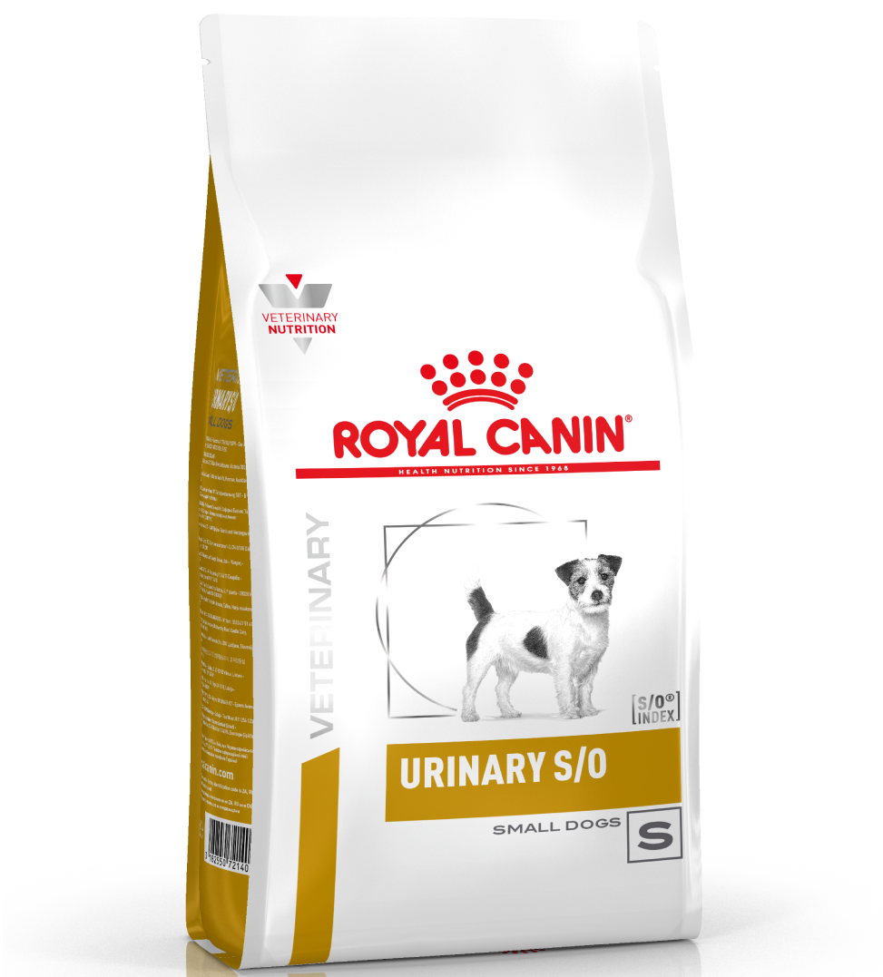 Royal Canin - Veterinary Diet Canine - Urinary S/O Small Dog - 4kg