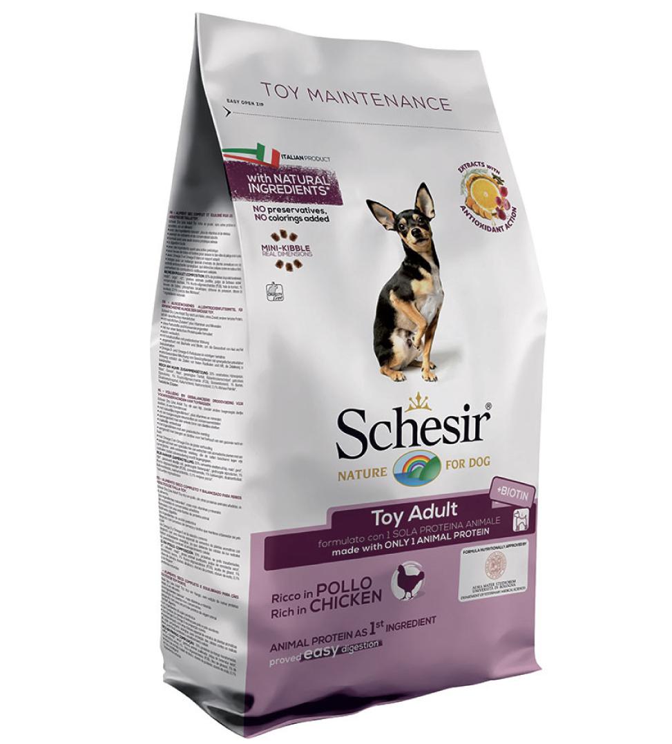 Schesir Dog - Toy Adult - Pollo - 2 kg