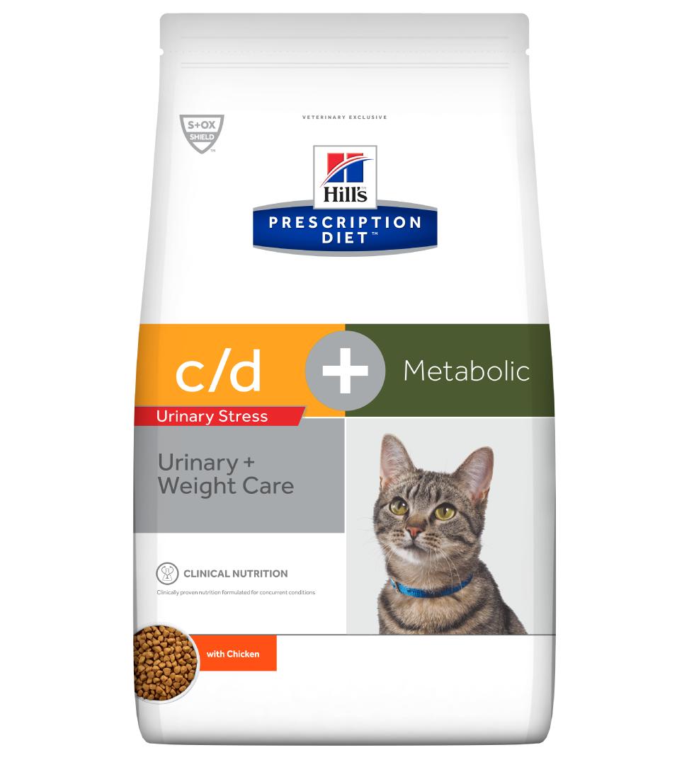 Hill's - Prescription Diet Feline - c/d Urinary Stress + Metabolic - 4 kg