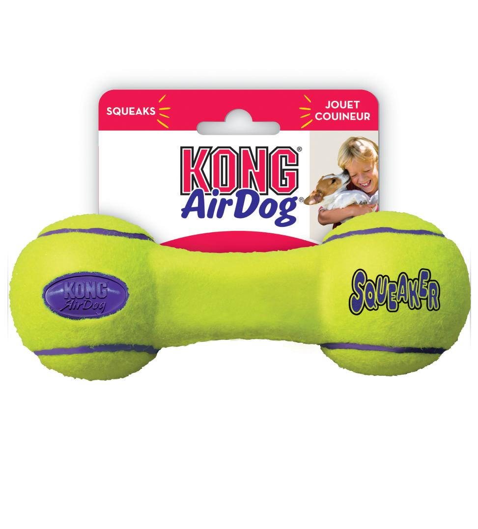 Kong - AirDog Squeaker Dumbbell - S