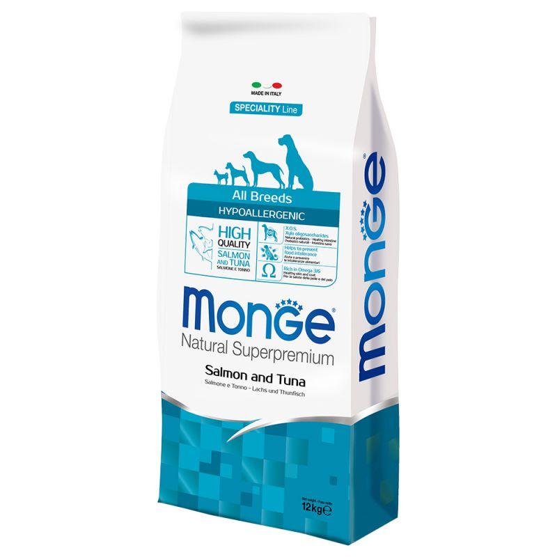 Monge - Natural Superpremium - All Breeds - Hypoallergenic - 12 kg