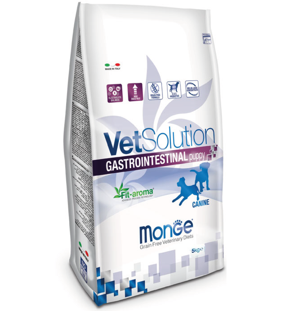 Monge - VetSolution Canine - Gastrointestinal Puppy - 5kg