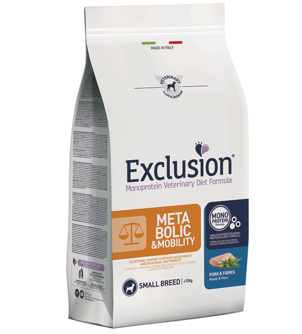 Exclusion - Veterinary Diet Canine - Metabolic-Mobility - Small - 2kg