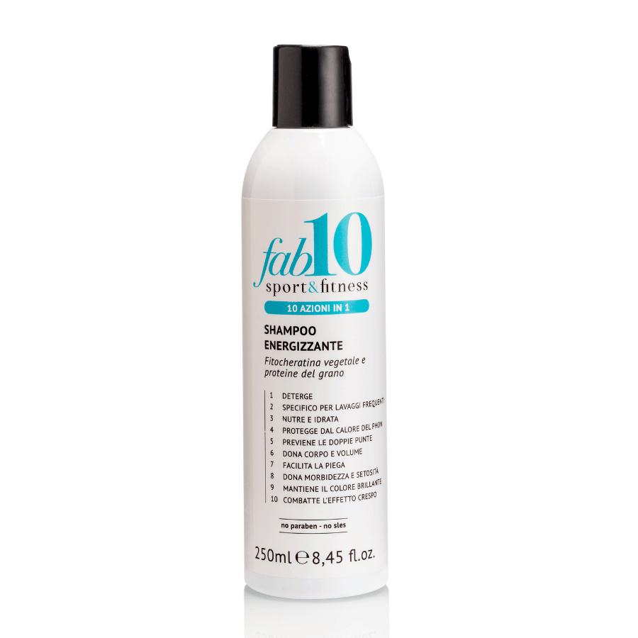 Shampoo energizzante Sport&Fitness 10 in 1