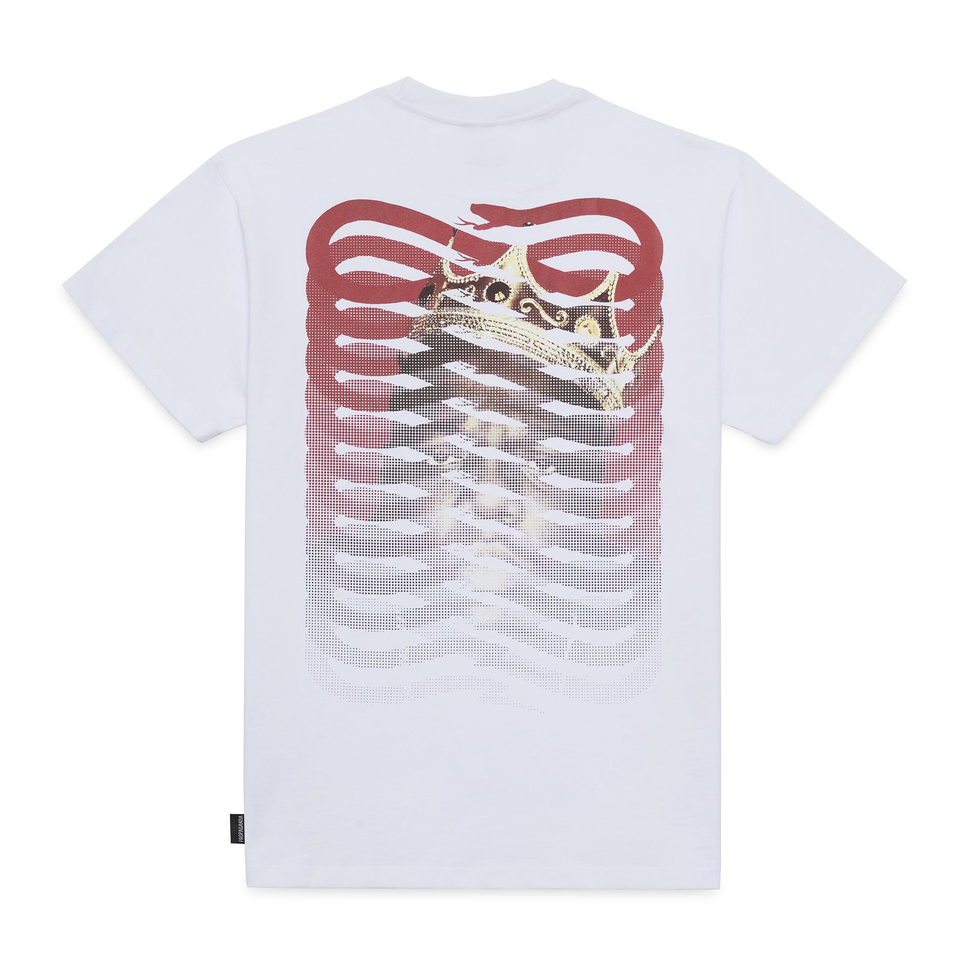 T-shirt Propaganda - BIGGIE RIBS Icon Tee SS21 White