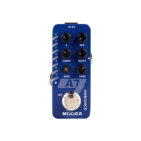 MOOER A7 AMBIENCE REVERB