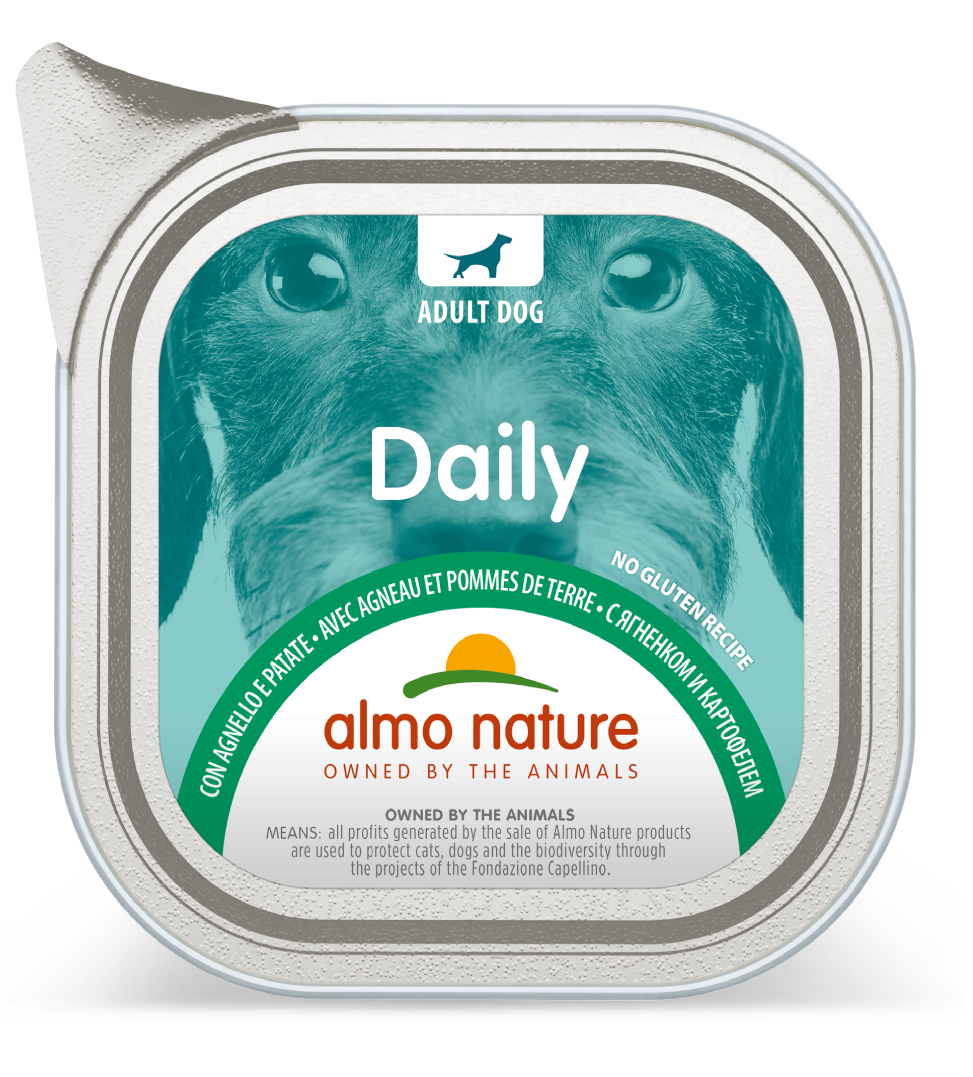 Almo Nature - Daily Dog - Adult - 300g x 9 vaschette