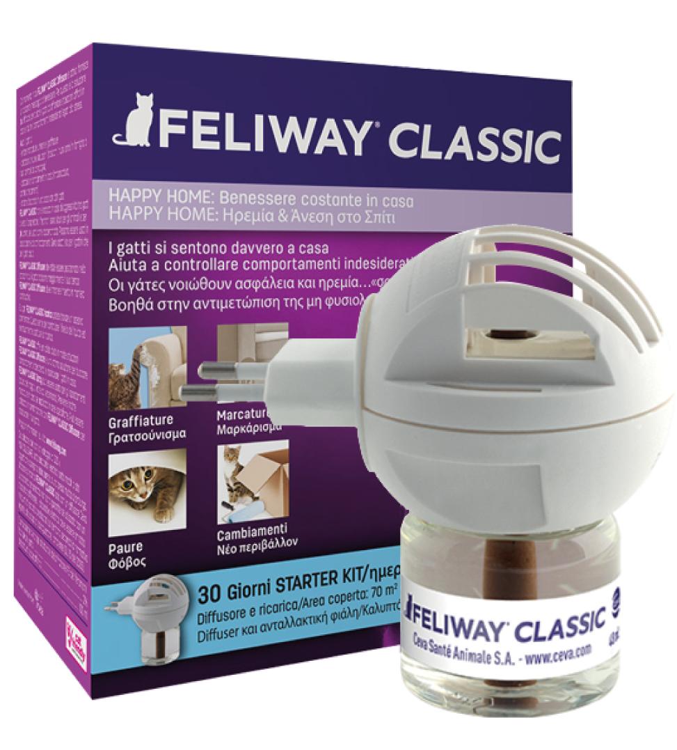 Ceva - Feliway Classic - Starter Kit (Diffusore + Ricarica)