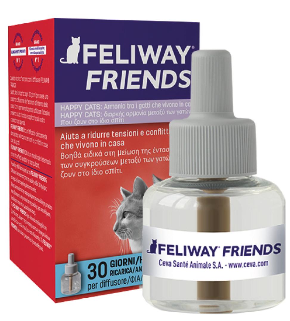 Ceva - Feliway Friends - Ricarica - 48ml