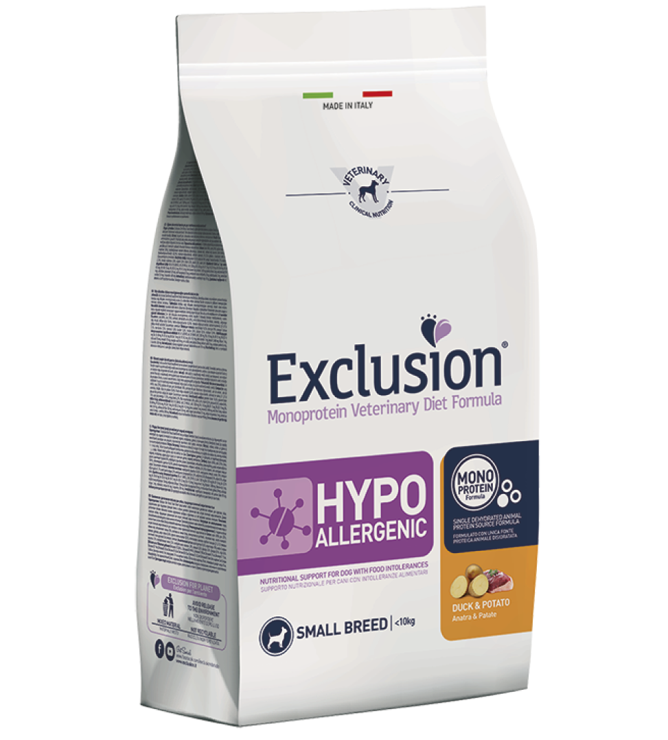 Exclusion - Veterinary Diet Canine - Hypoallergenic - Small - 2kg