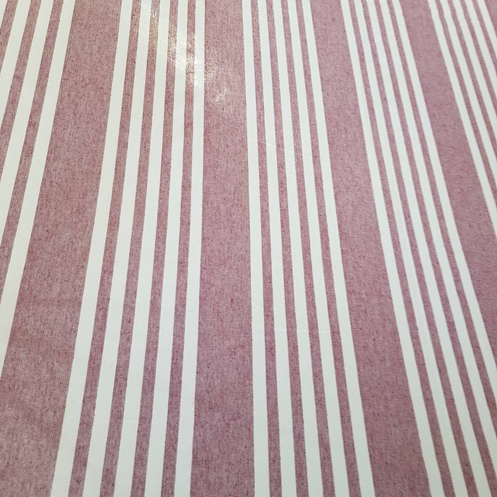Telo Granfoulard copritutto Quattro righe bordeaux 160 x 280