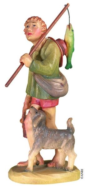 Pescatore per presepe Anri Kuolt  cm. 7,5