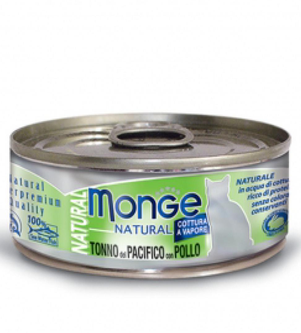 Monge Cat - Natural Superpremium - Natural 80g x 6 lattine