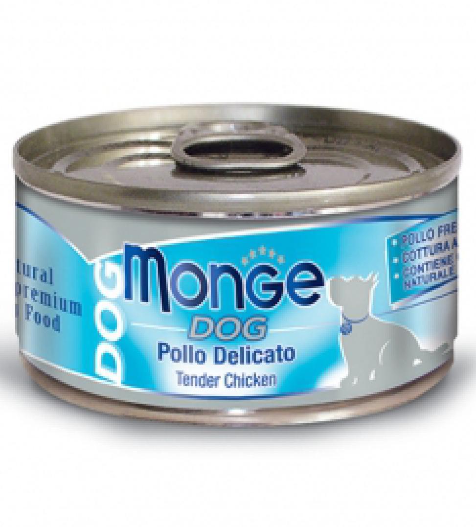 Monge Dog - Natural Superpremium - Sfilaccetti 95gr x 6 lattine