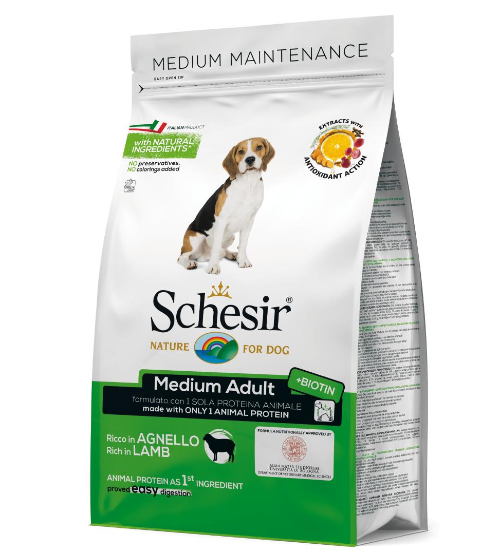 Schesir Dog - Medium Adult - 3 kg