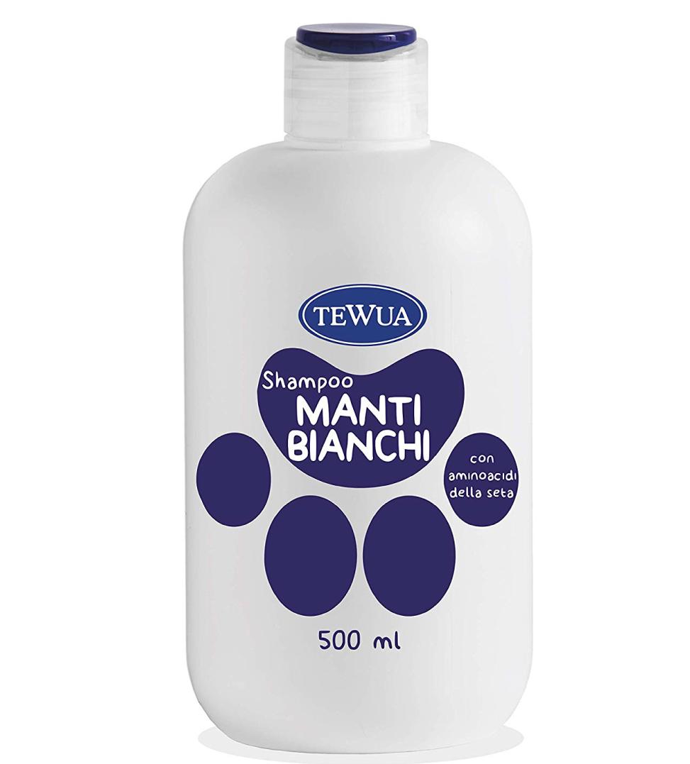 Tewua - Shampoo Ph Fisiologico - Manti Bianchi o Neri 500ml