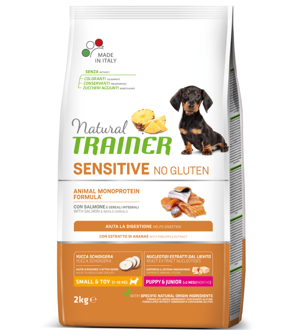 Trainer Natural Sensitive - Small&Toy - Puppy&Junior - 2 kg